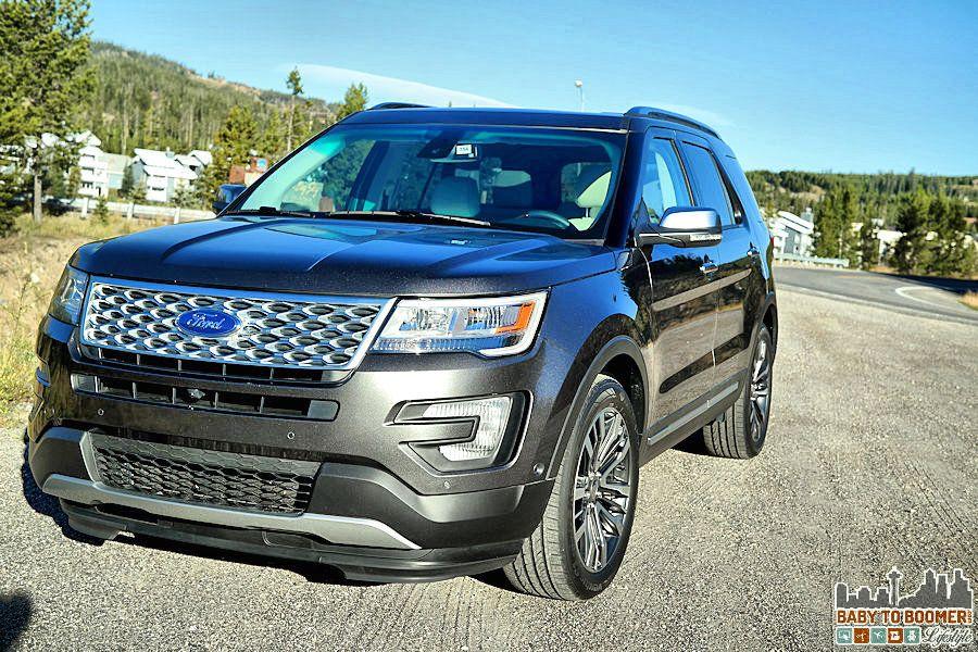 2016 Ford Explorer Platinum Cutting Edge Tech in a Sleek Body