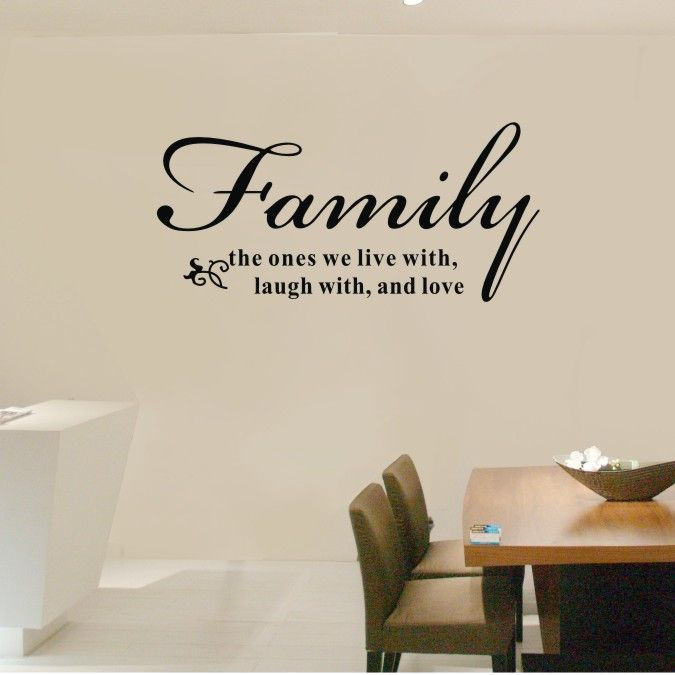 Cheap Wall Stickers On Sale At Bargain Price, Buy Quality Vinyl Family  Decals, Vinyl. Family Room WallsLiving ...