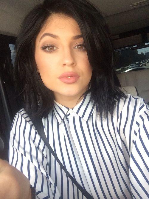Kendallandkyliejennerlove Kylie Jenner Black Hair Kylie Jenner Hair Kylie Jenner Black