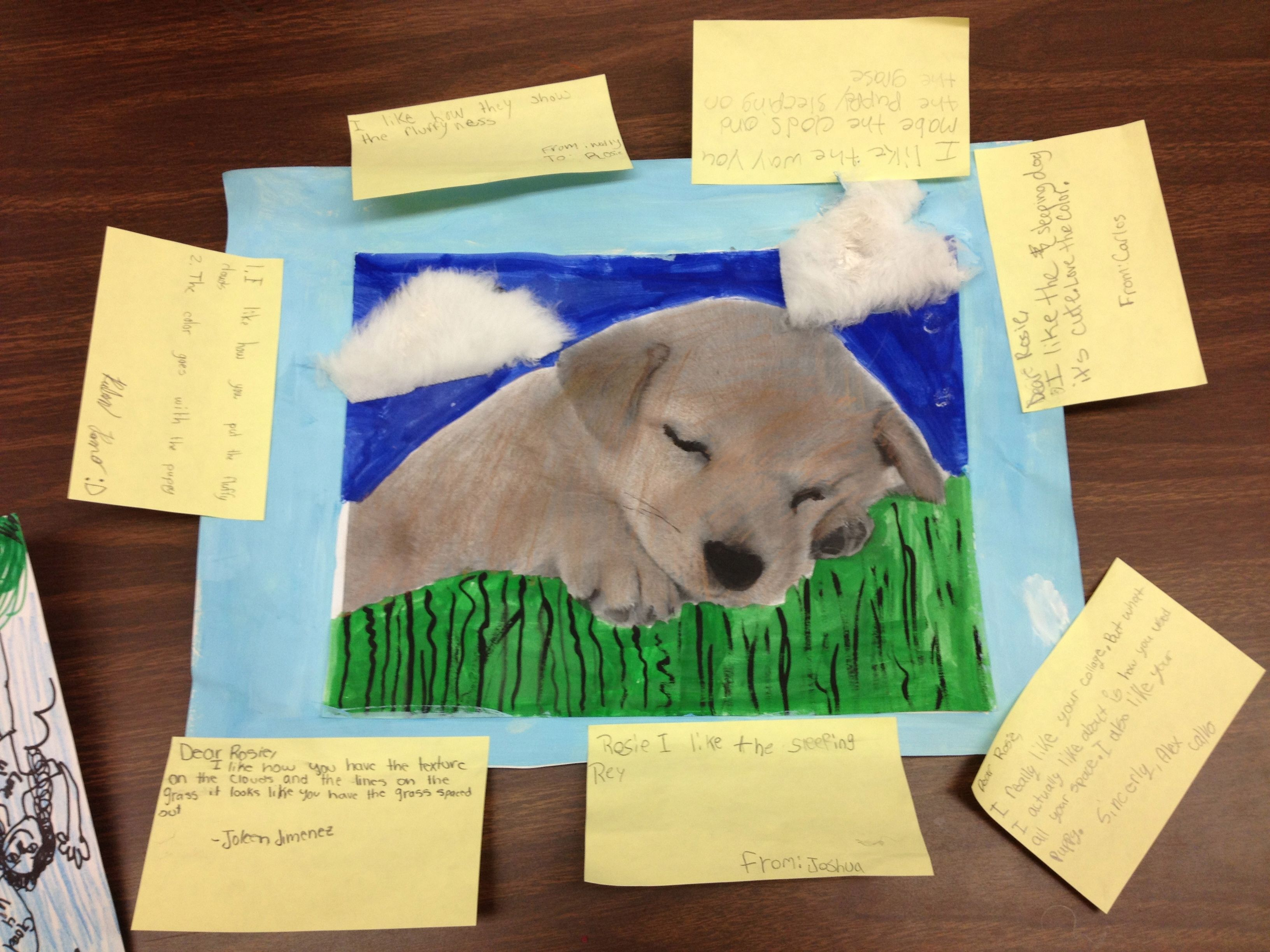 Gallery Walk With Student Comments On Post It Notes