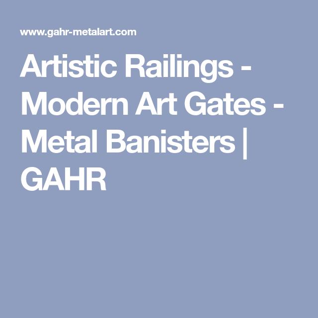 Artistic Railings