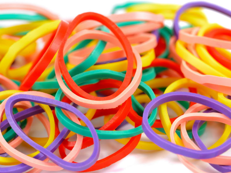 34 Creative Ways To Use Rubber Bands Rubber Bands Rubber Band Crafts Large Rubber Bands