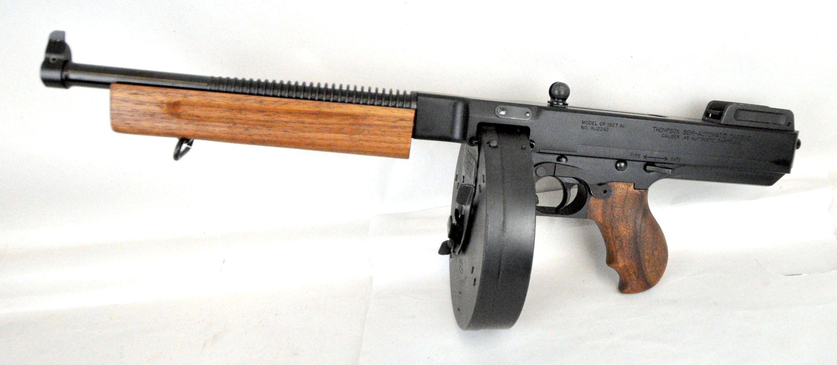 Auto Ordnance Thompson Lightweight Deluxe Pistol  The