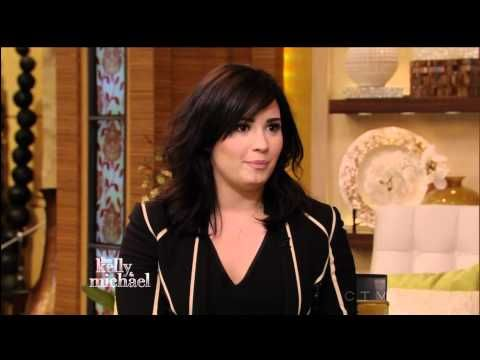 Demi Lovato interview  Live with Kelly and Michael