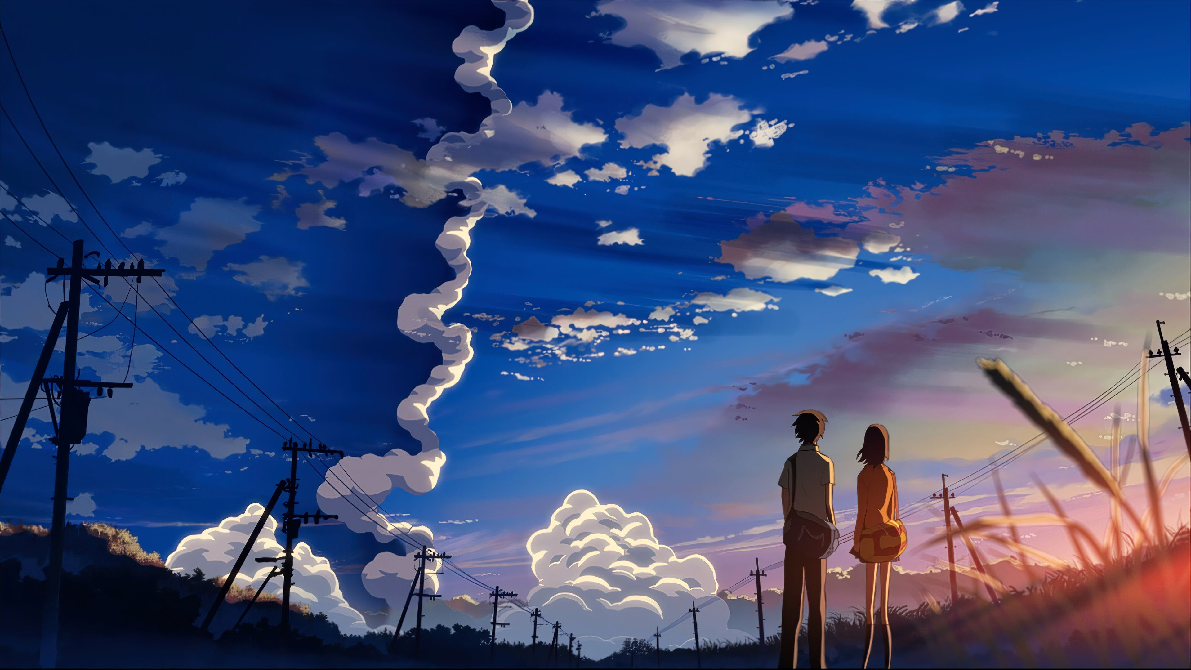 More Rocket Launch 4K wallpaper Anime landschaft