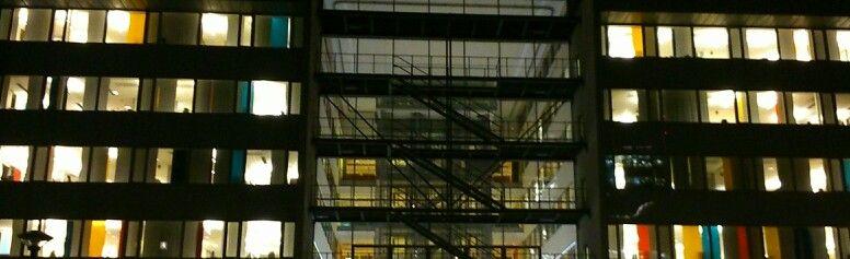 Modernist offices Kista Stockholm