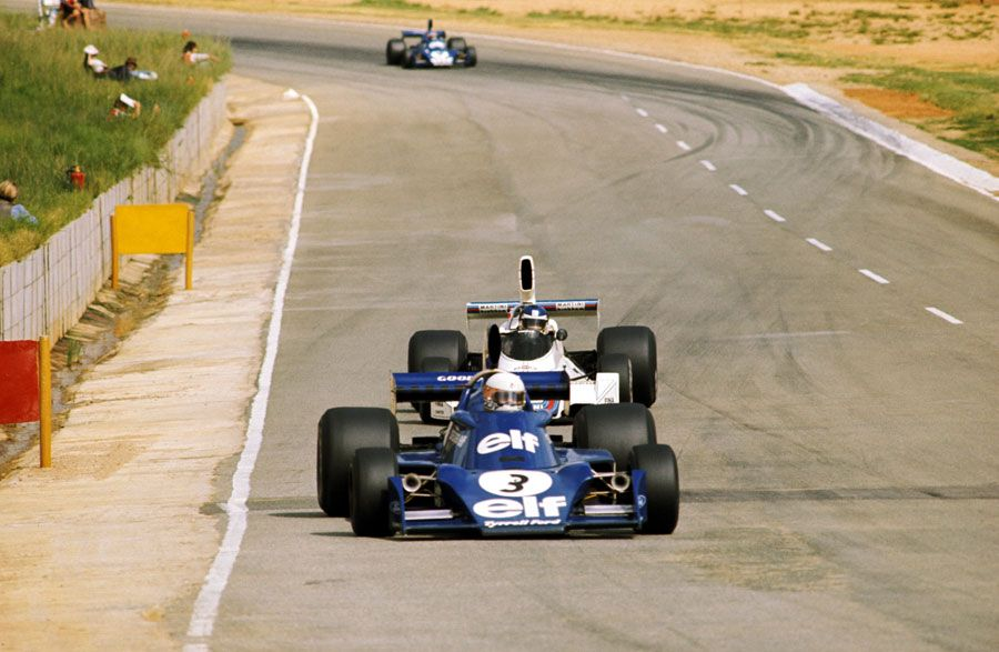 Jody Scheckter delights Kyalami crowd by winning the South ...