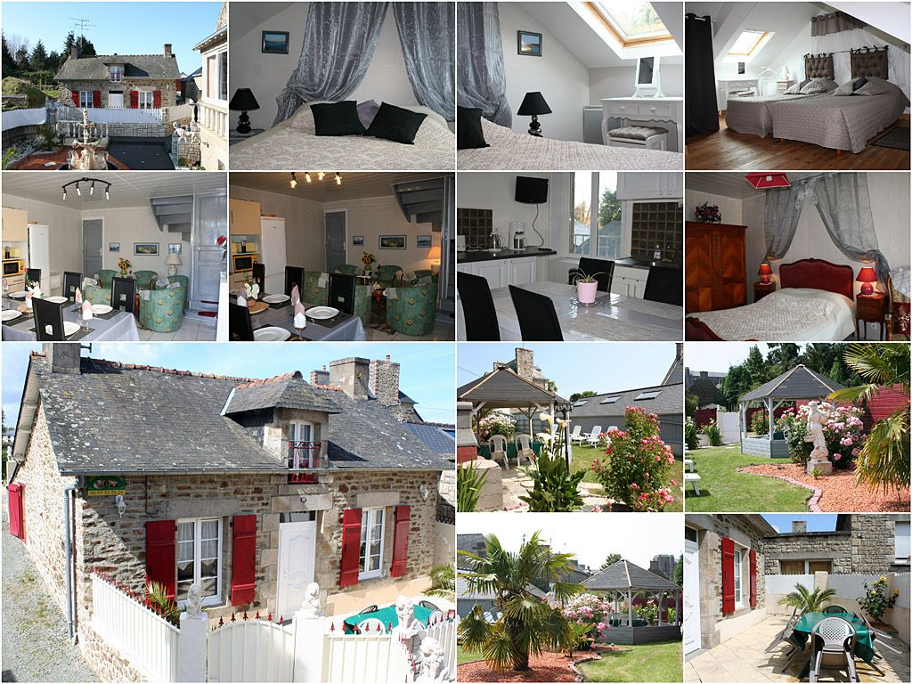 LE GITE DE LA MAUGERAIE A PLEURTUIT Capacité d'accueil de 6 personnes proche de Dinard et Saint-malo  Voir le site officiel :  http://www.gite-de-la-maugeraie.fr/