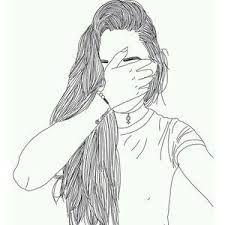 Resultado De Imagen Para Dibujos De Chicas Tumblr A Lapiz Imagenes
