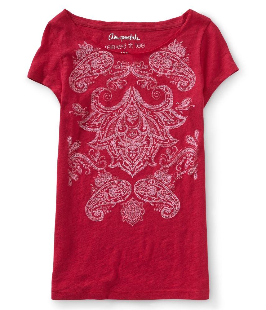 Aeropostale Womens Bandana Print Cut Off Casual Denim Shorts