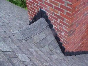 A Chimney Cricket Is A Raised Portion Of The Roof With A Ridge At The Chimney That Keeps Water From Causing Damage And D Building Roof Metal Building Kits Roof