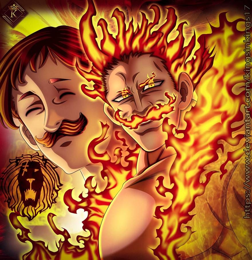 Escanor The One Ultimate Nanatsu No Taizai 328 By Kingsinkings17 On Deviantart Seven Deadly Sins Anime Sick Drawings Seven Deady Sins