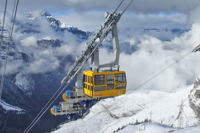 The 15 Most Amazing Ski Lifts In World