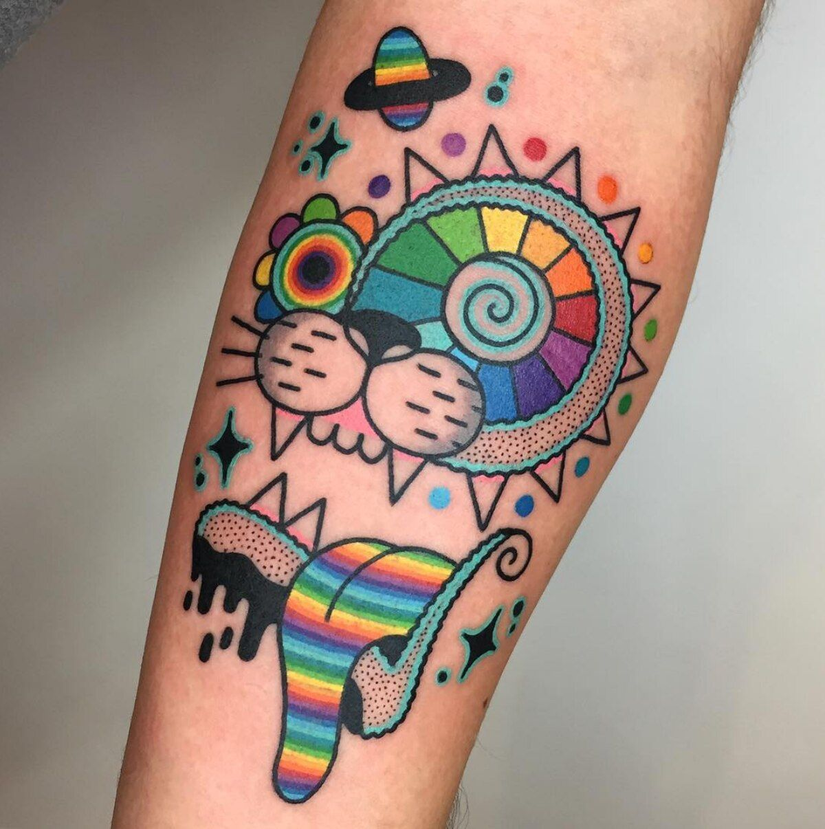 Small Acid Tattoo: Before There Was The Psychedelic Tattoo Artist Winston The