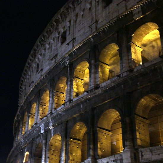 Coliseum backlit