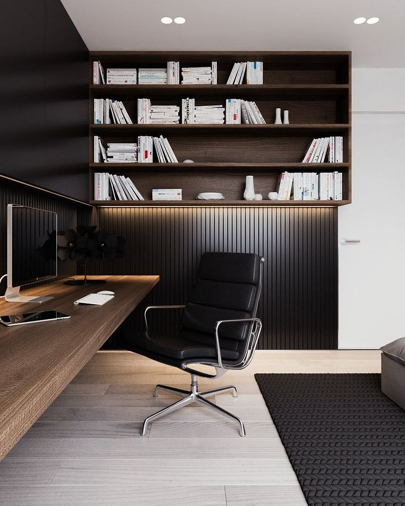 Amazing fabulous and simple home office design ideas for men https also pin by modern house idea on other rh pinterest
