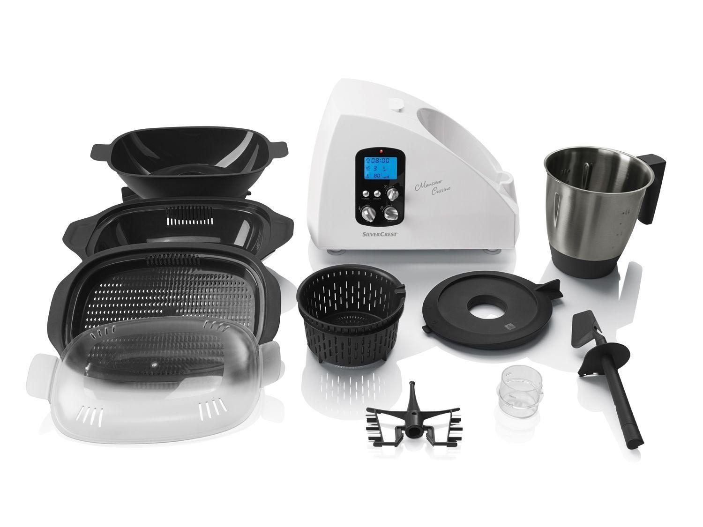 SILVERCREST® Küchenmaschine mit Heizfunktion Monsieur Cuisine SKMH ...
