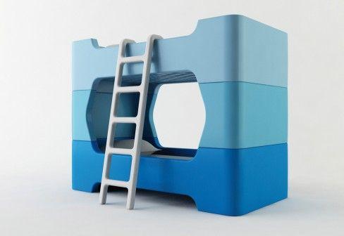 Etagenbett Die Besten : Modulares etagenbett von magis möbel pinterest