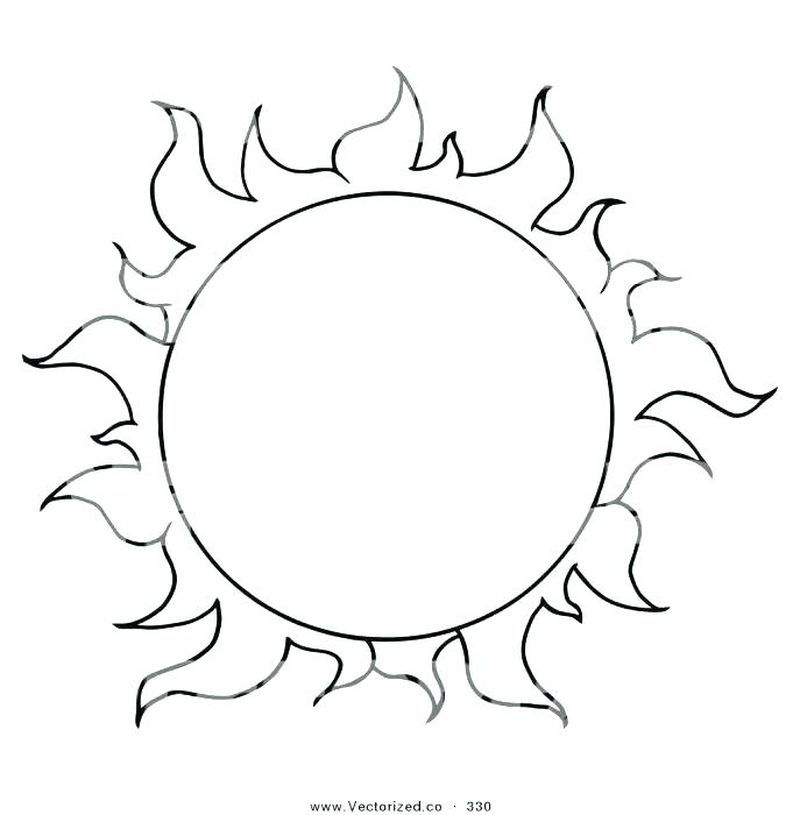 Sun Coloring Page Free Sun Coloring Pages Pokemon Coloring Pages Moon Coloring Pages