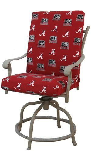 Alabama Crimson Tide Bama Outdoor Chair Cushion Set