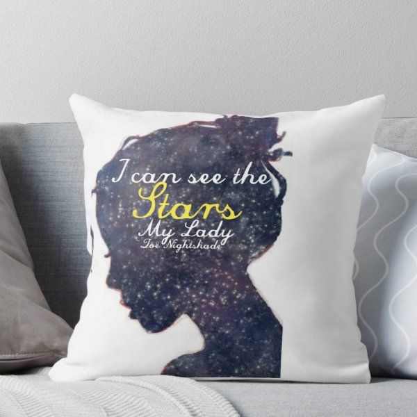 Zöe Nightshade ~ Percy Jackson Throw Pillow images