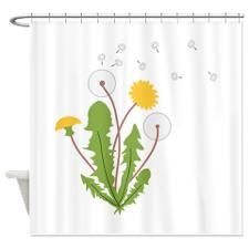 Dandelion Shower Curtain By Concordcollections Shower Curtains