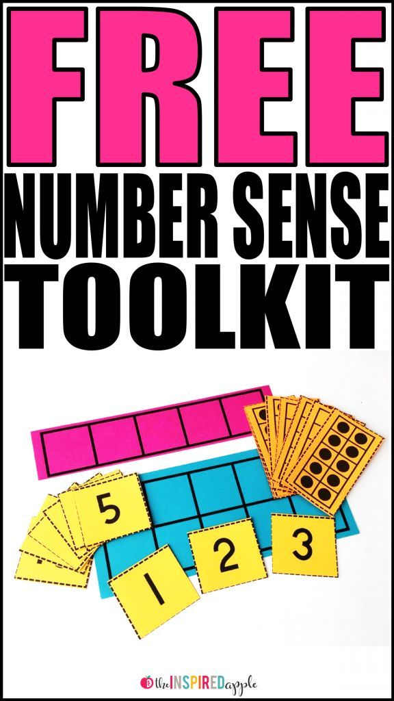 Free Number Sense Toolkit {Abby Mullins}