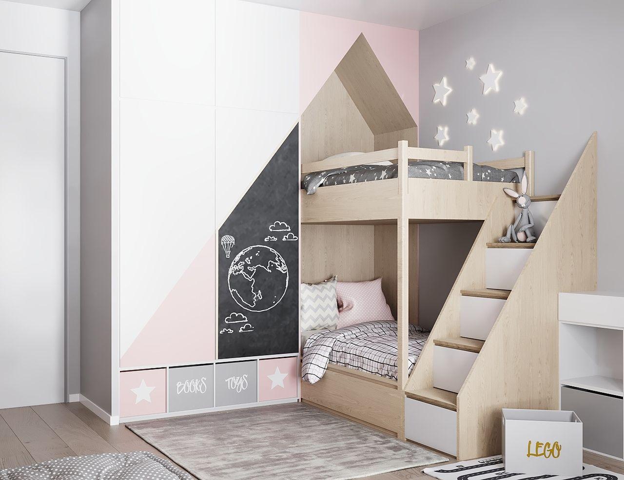 ДИЗАЙН СТУДИЯ А+Б | Маленькие детские комнаты, Детская ...