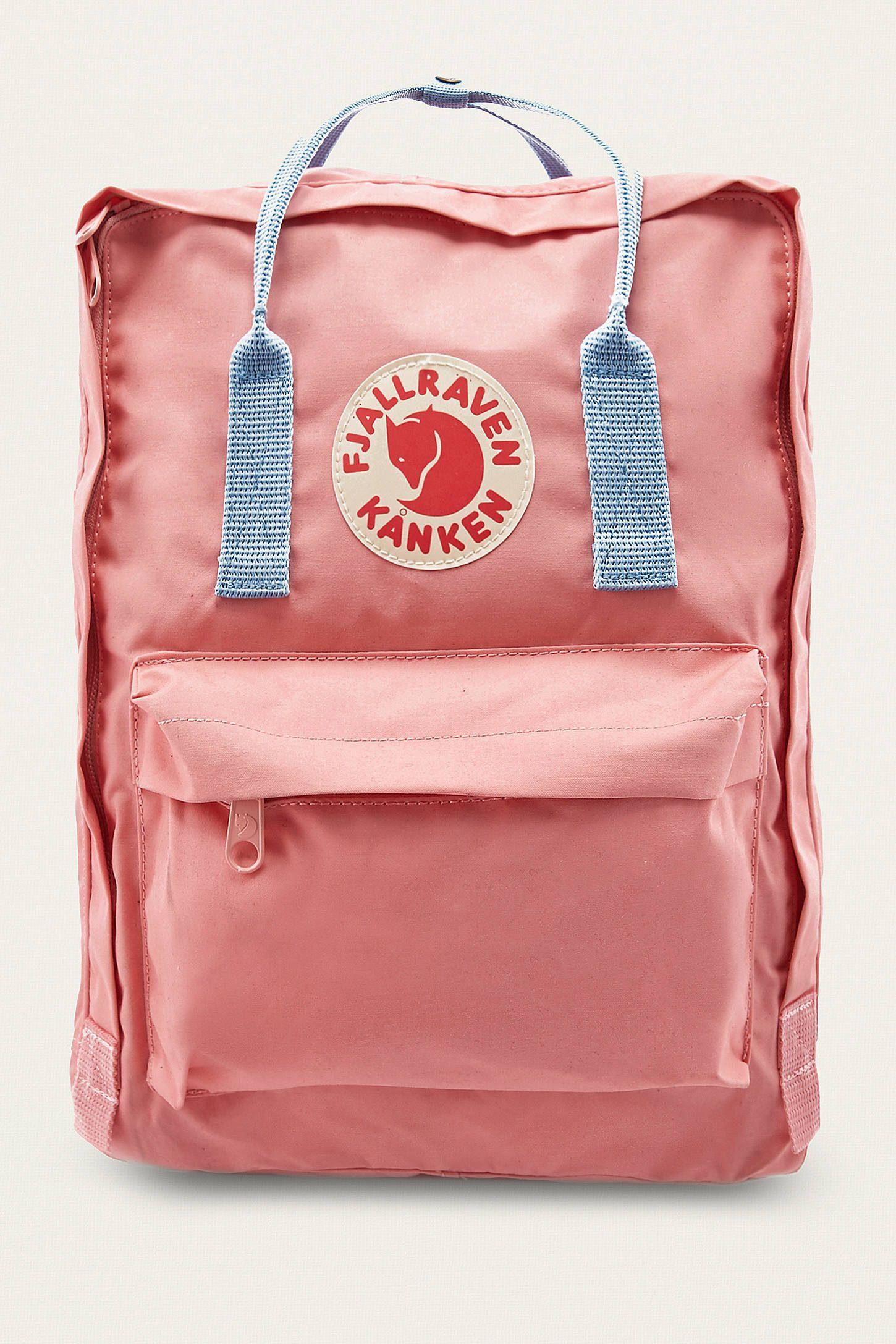 Fjallraven Kanken Pink & Air Blue Backpack en 2020 Sac