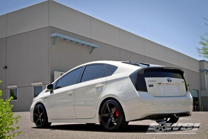 Toyota Prius On Enkei Rims Proof That Hybrids Need Love Too