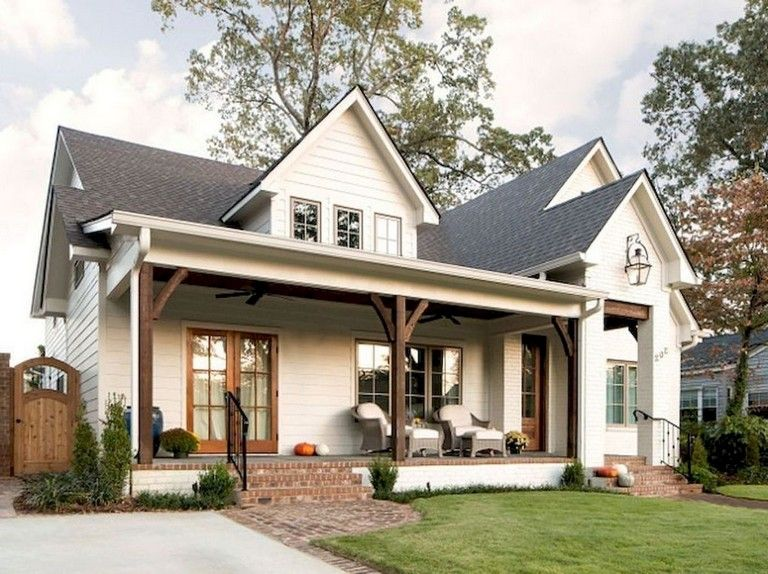 46 Smart Backyard Studio And Office Ideas Modern Farmhouse Exterior Dream House Exterior House Designs Exterior