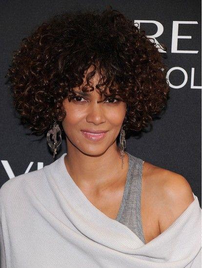 Halle Berry Curly Hairstyles Hairstyles Haar Ideen Lockige