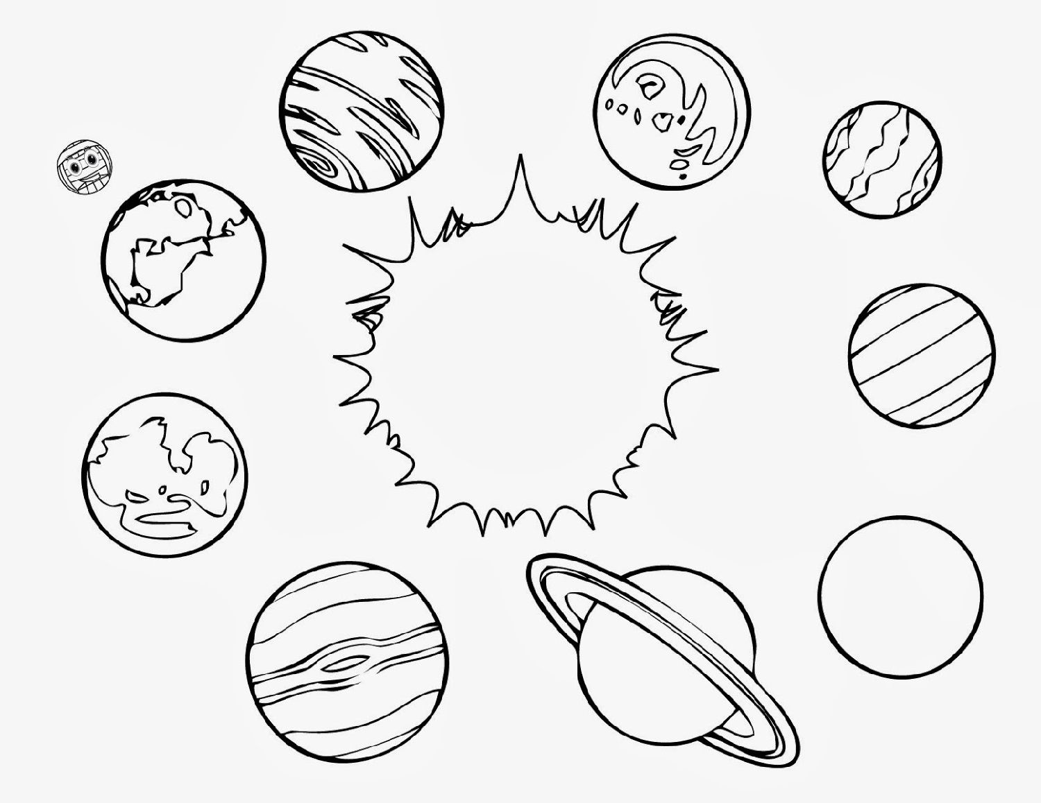 Printable Outer Space Worksheets Solar System Coloring Pages Planet Coloring Pages Space Coloring Pages [ 1158 x 1500 Pixel ]