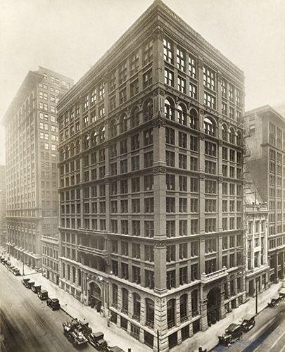 William Le Baron Jenney's Home Insurance Building (1884 ...