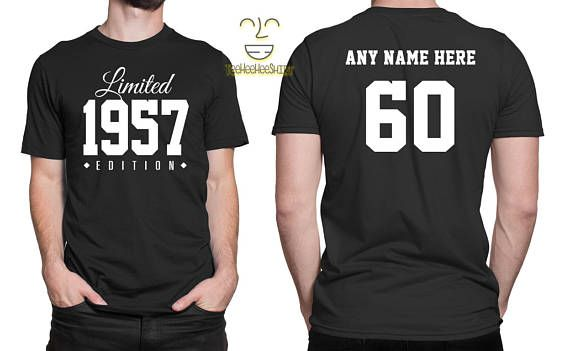4defdd319 1959 Limited Edition 60th Birthday Party Shirt, 60 years old shirt ...