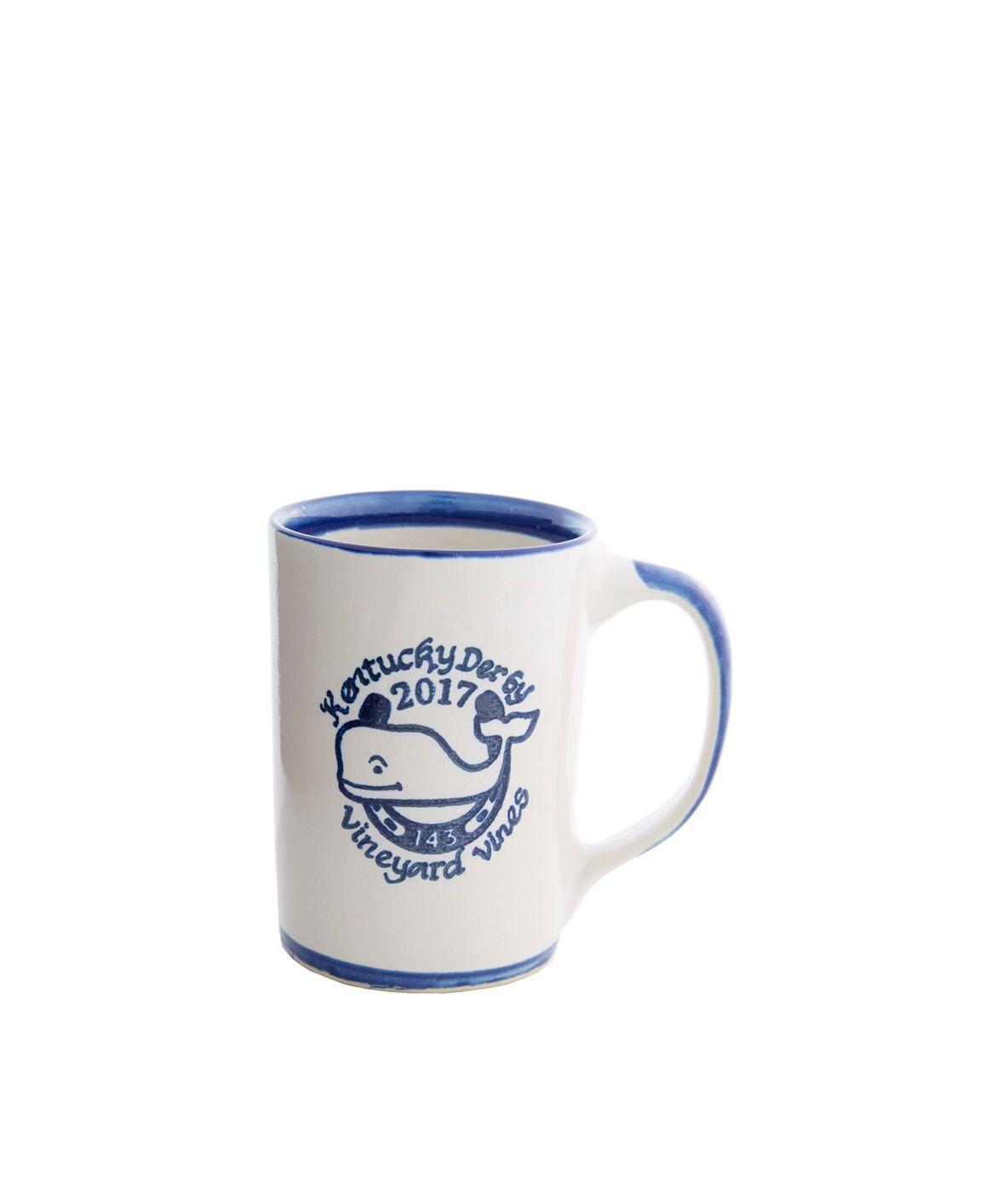 Vineyard Vines Kentucky Derby Mug by Louisville Stoneware