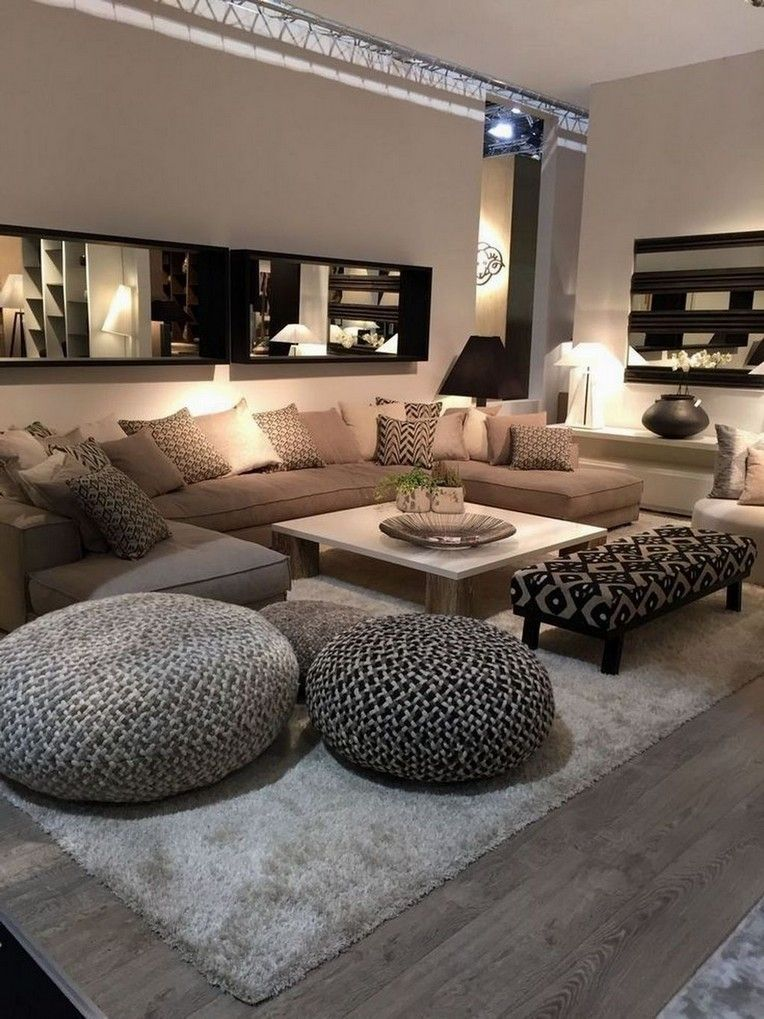 40 Beautiful Apartment Living Room Decorating Ideas On A Budget