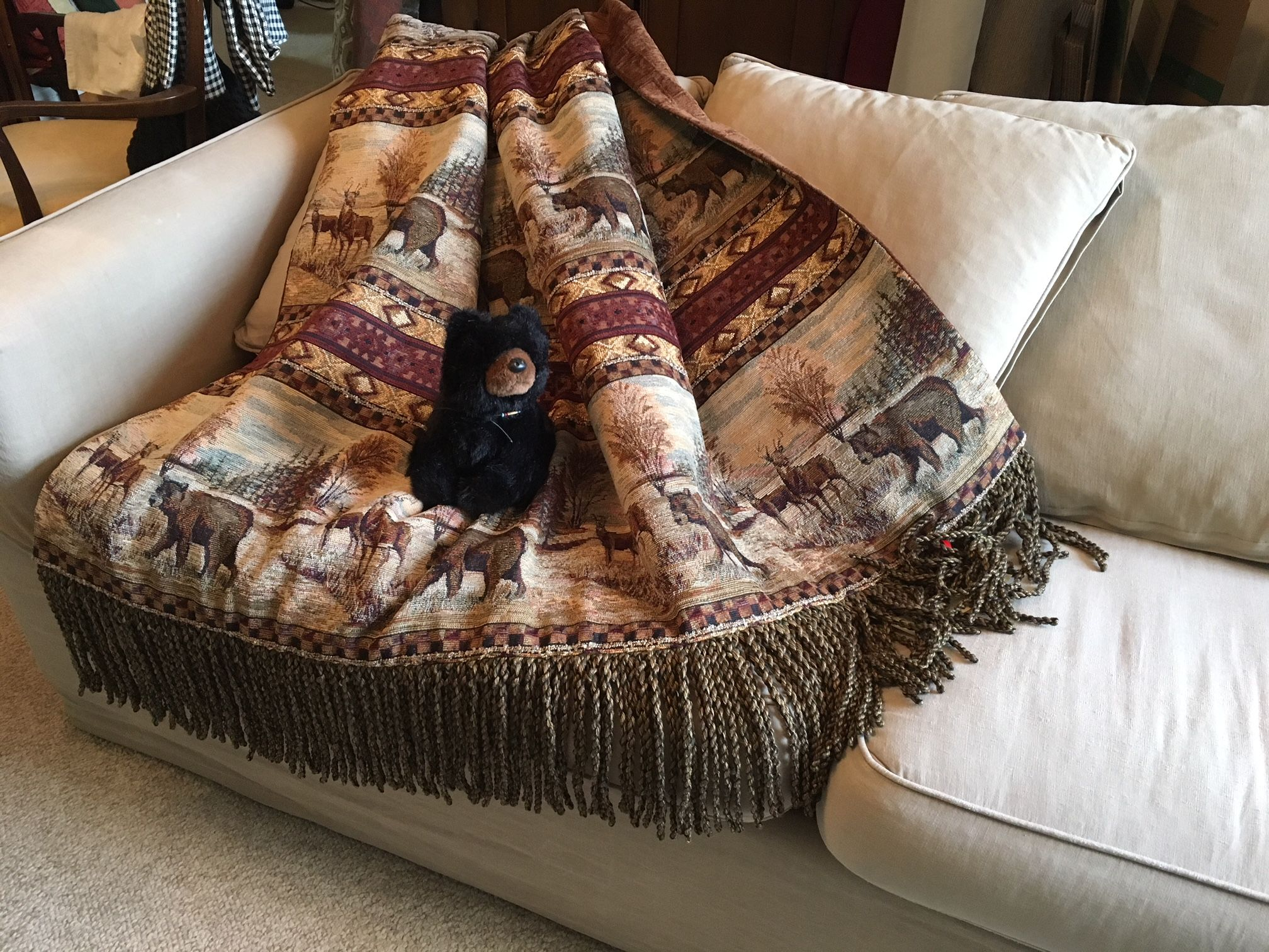 Mountain Lodge Man Cave Rustic Cabin This Throw Blanket Is The Perfect Addition To Any Room Where A Touch Of T Throw Blanket Blanket Unique Items Products