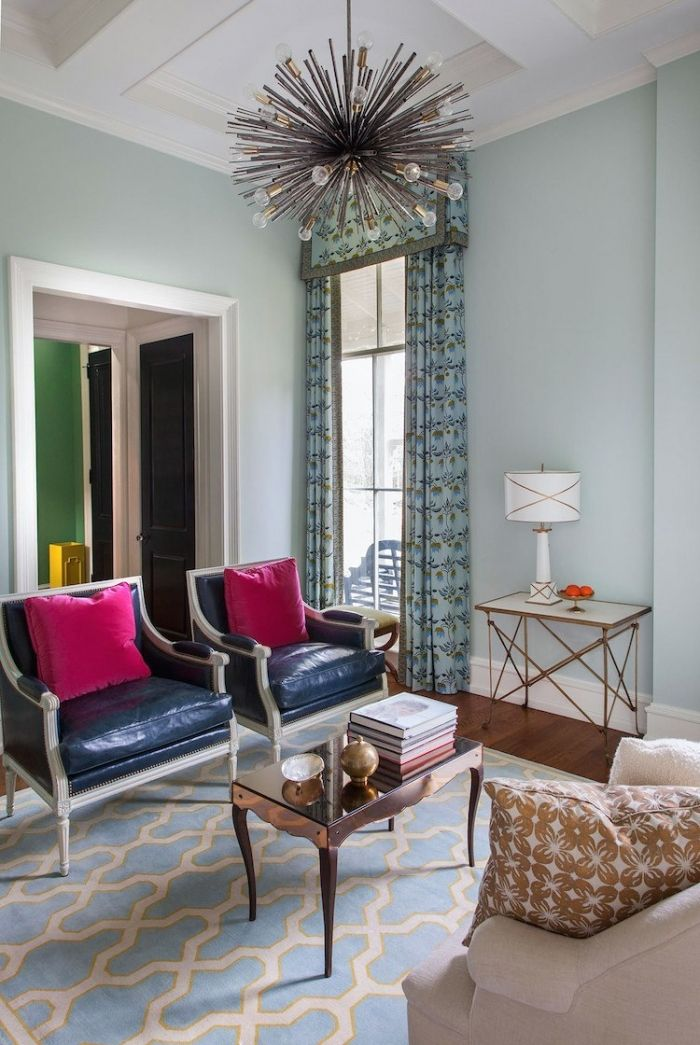 Beautiful pics of some of the BEST Benjamin Moore blues.