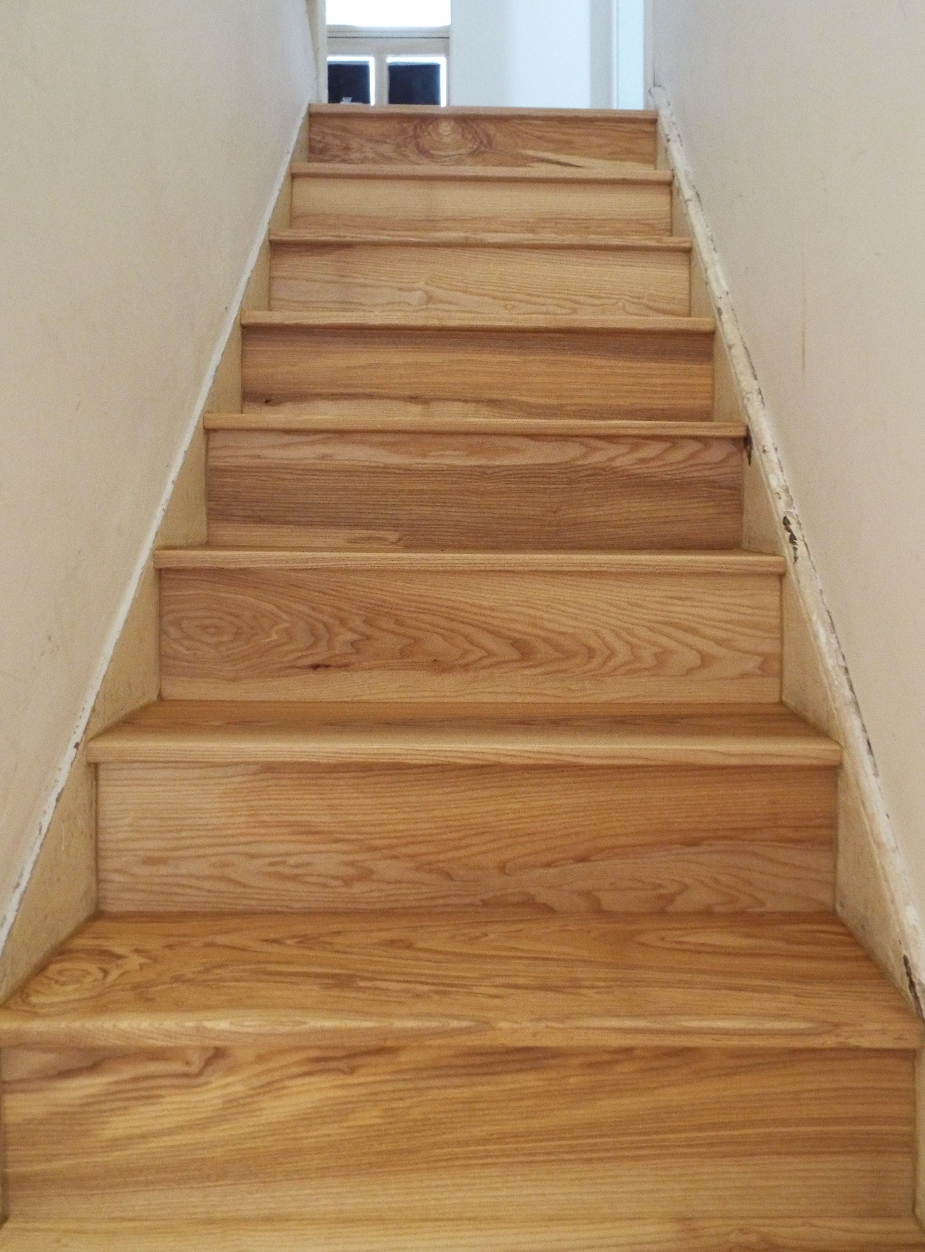 Best Solid Ash Staircase Wood Stairs Wood Staircase 400 x 300