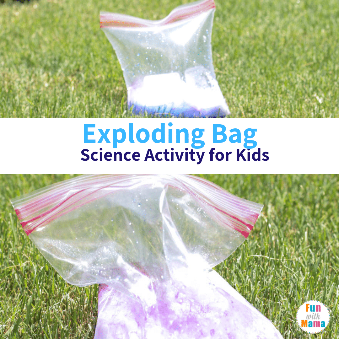 Exploding Bag Science Activity For Kids In 2020 Cool Science Experiments Science Experiments Kids Science Activities For Kids