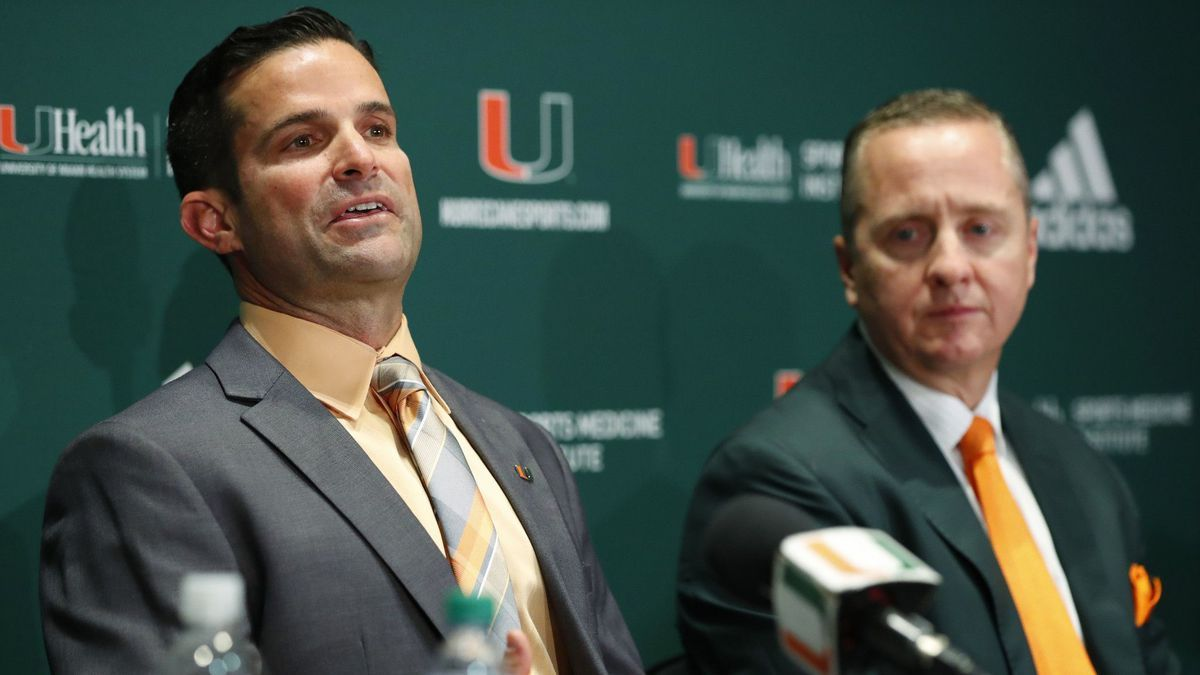 Miami AD Blake James, Hurricanes football players express