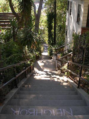 Los Angeles: Climbing the Hidden Stairways: Silver Lake Reservoir Stairs Walk