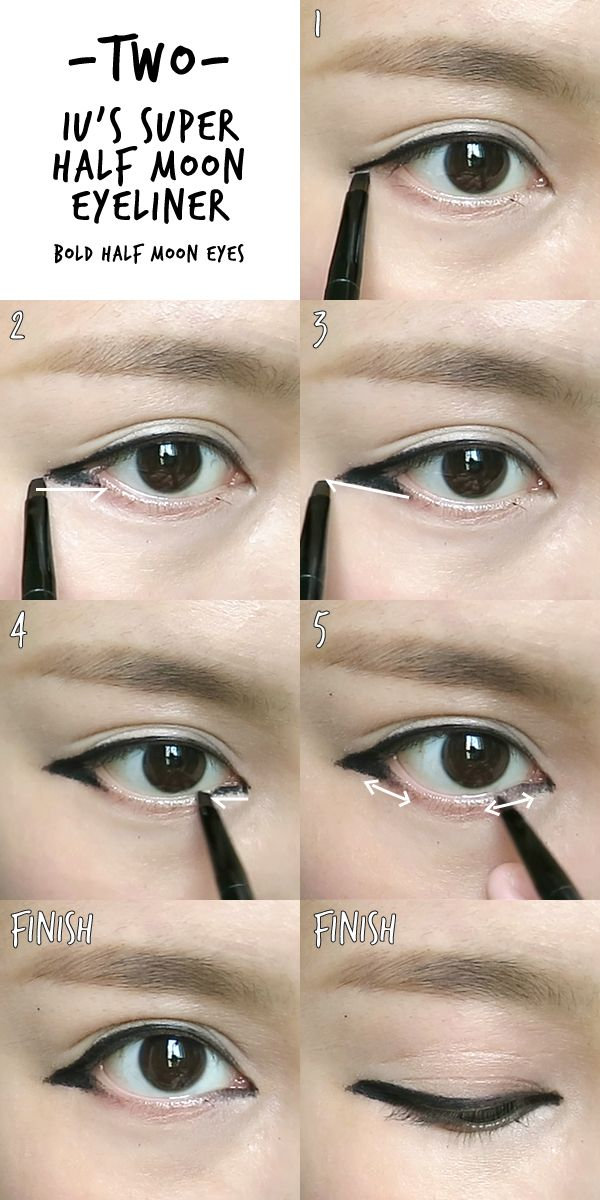 6 Makeup Must Haves For Summer 2017: 6 K-pop Inspired Korean Style Eyeliners Tutorial