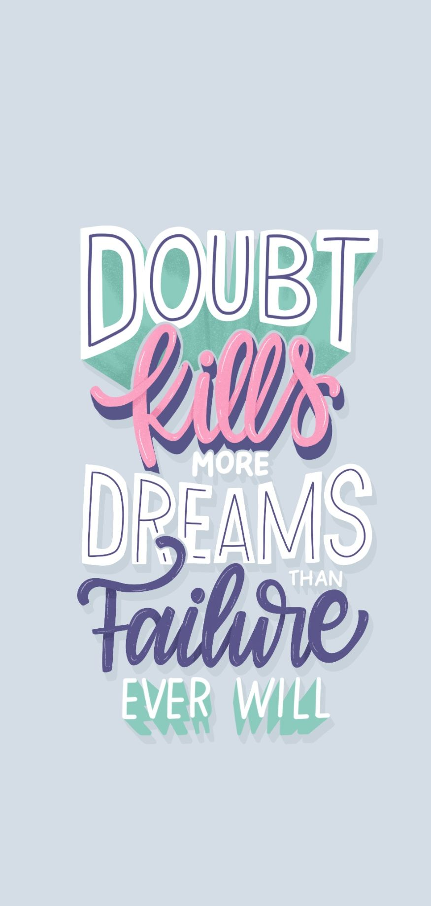 No Doubts Screensaver Quotes Aesthetic Desktop Wallpaper Inspirational Quotes For Girls