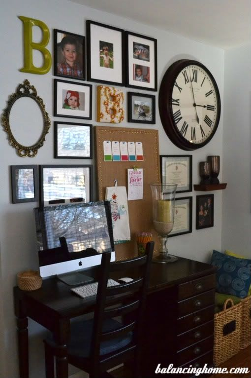 Gallery Wall Balancing Home Office Gallery Wall Decor