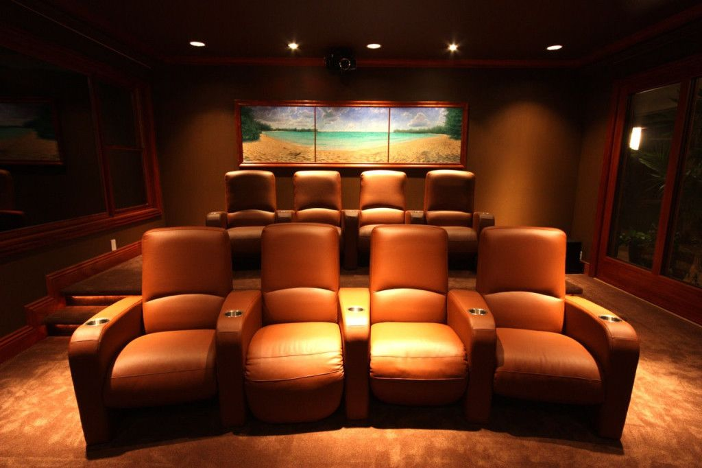Interesting Entertainment Room Ideas Images With Modern Basement