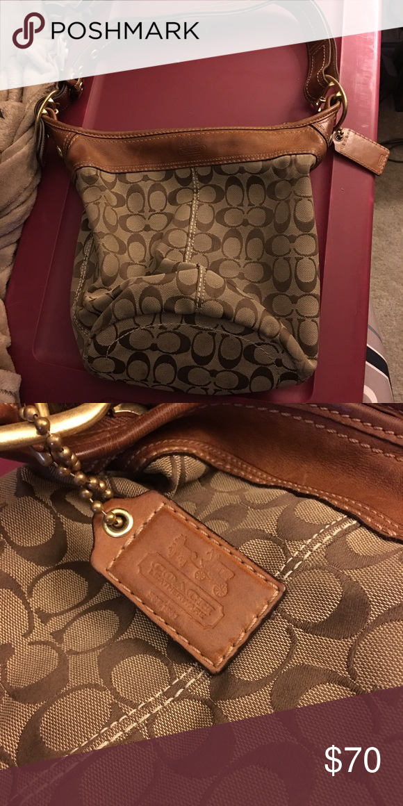 Coach Bucket Bag Gently used - some dark marks on bottom Coach Bags Shoulder Bags