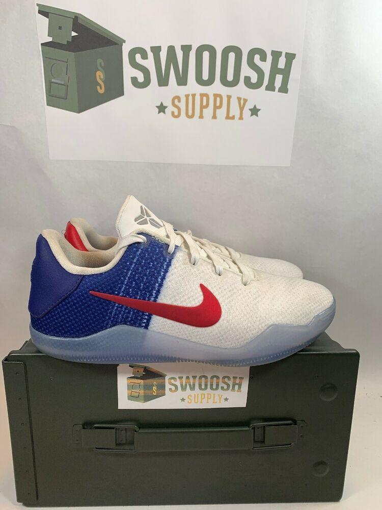 Nike Kobe XI Elite Low Olympic USA Size