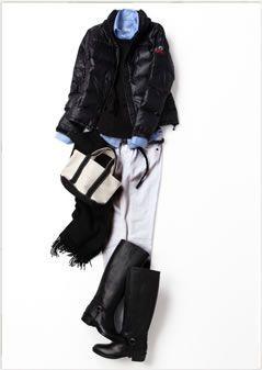 Tenue Femme Automne/Hiver inspi KK Closet-Essentiels Garde Robe Minimaliste